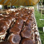 Chocolate Peanut Butter Whoopie Pies at the Whoopie Pie Festival