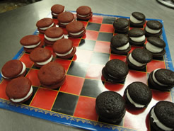 Whoopie Pie Checkers